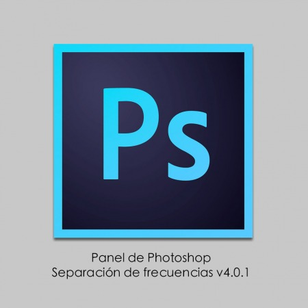 Panel Photoshop Separación de Frecuencias